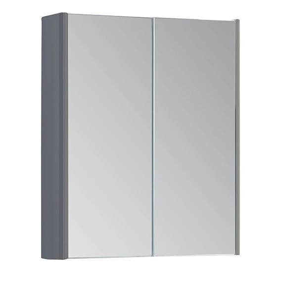 Fur297op Kartell K Vit Options 500mm Mirror Cabinet Basalt Grey Leeds Clearance Bathrooms