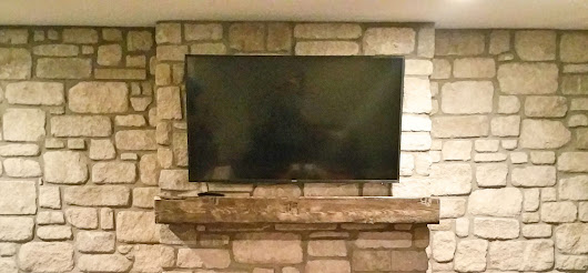 Should You Hang Your TV Above the Fireplace? - Chimney & Masonry Outfitters