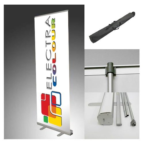 Roll-up Stand Combo Banner - Graphic size - Tradeshow Stands