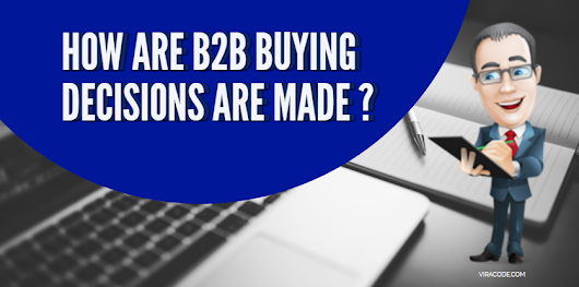 How new b2b buying decisions are made