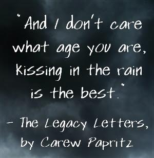 Rain Quotes The Legacy Letters By Carew Papritz