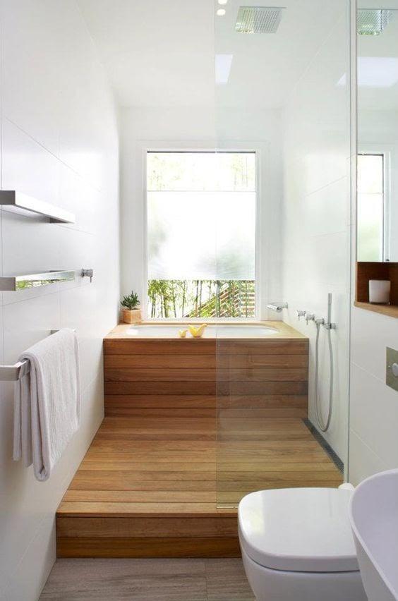 Beautiful Japanese Bathroom Design Small Space wallpaper
