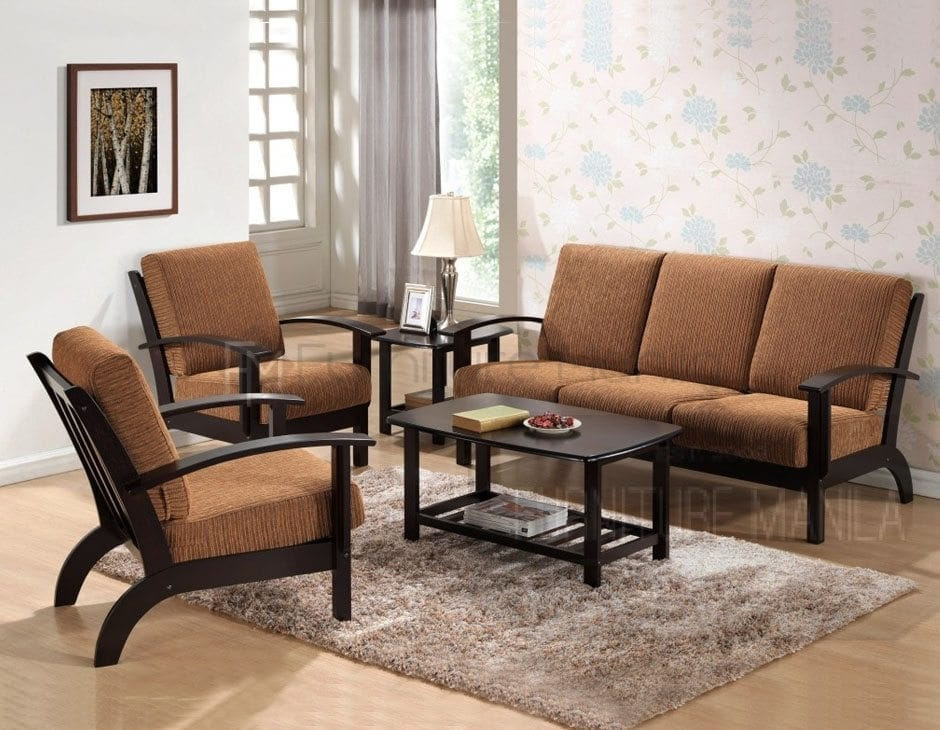 YG331 WOODEN SOFA SET   Home & Office Furniture Philippines
