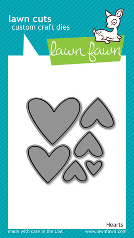 hearts - lawn cuts