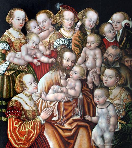 Le Christ Benissant les Enfants The Duggar Family: Renaissance Edition