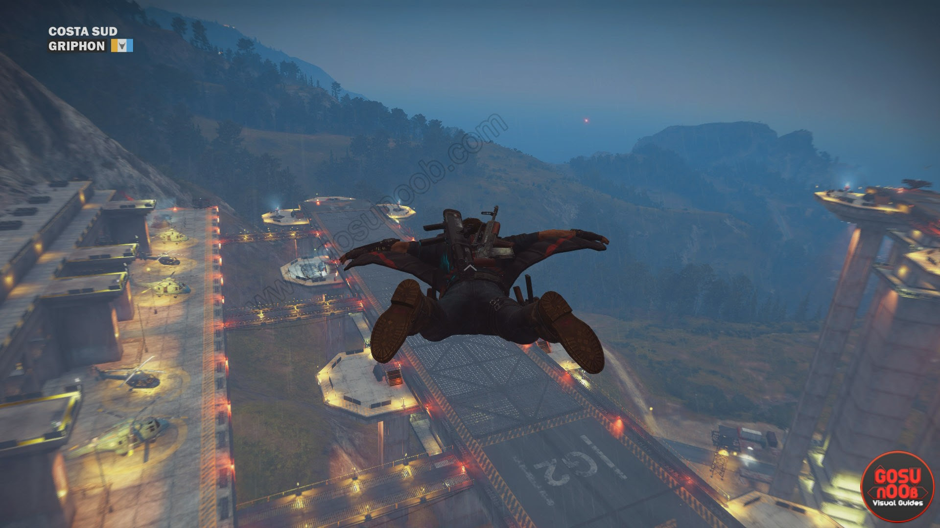 Wingsuit Tips Just Cause 3 Gosu Noob