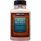 Kirkland Signature Pure Sea Salt, Fine Grain - 30 oz canister