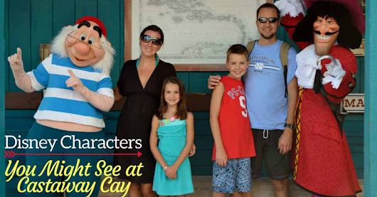 Which Characters You Might See at Castaway Cay - Disney Insider Tips