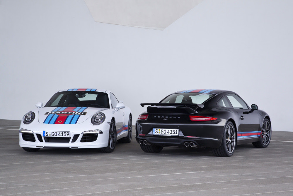 W1Supercars: The Martini Racing Edition of the 911 Carrera S. More pictures >http://bit.ly/911CarreraS