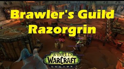 WoW Legion Brawler's Guild: Razorgrin Boss Fight [Enhancement ...