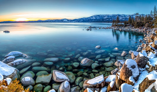 Tahoe Boulders at Sunset 17