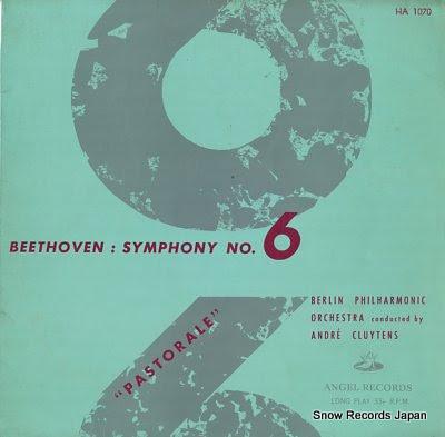 アンドレ・クリュイタンス ベートーヴェン:交響曲第6番「田園」 Vinyl Records