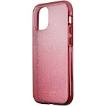Kate Spade Defensive Hardshell Case for iPhone 12 mini - Glitter Ombre Magenta