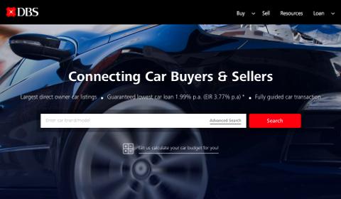 Place de marché de véhicules d'occasion par DBS
