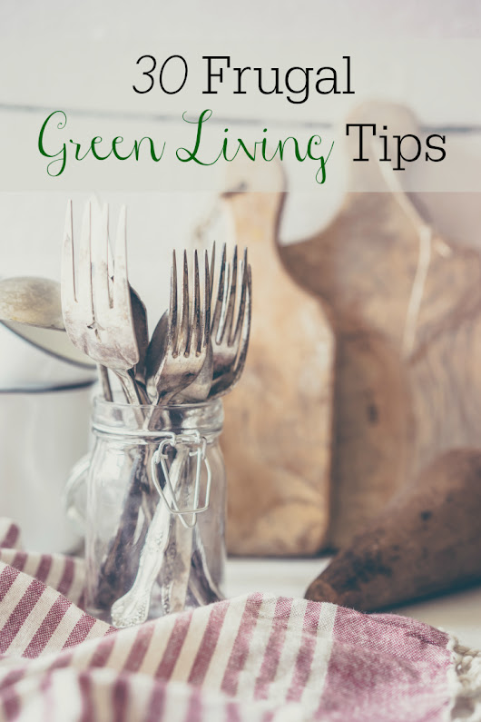 30 Frugal Green Living Tips - Retro Housewife Goes Green