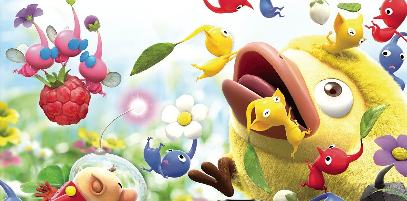 Review: Hey! Pikmin screenshot