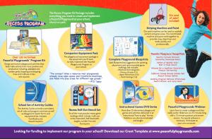 Peaceful Playgrounds Recess Program