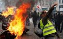 Unrest returns to Paris with worst yellow vest violence in weeks