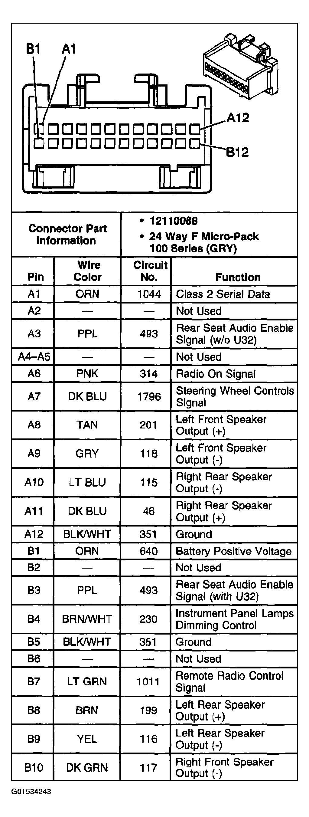 2014 Ford Focus Stereo Wiring Harness 2003 Pontiac Aztek Radio Wiring Diagram Wiring Diagram Schematics