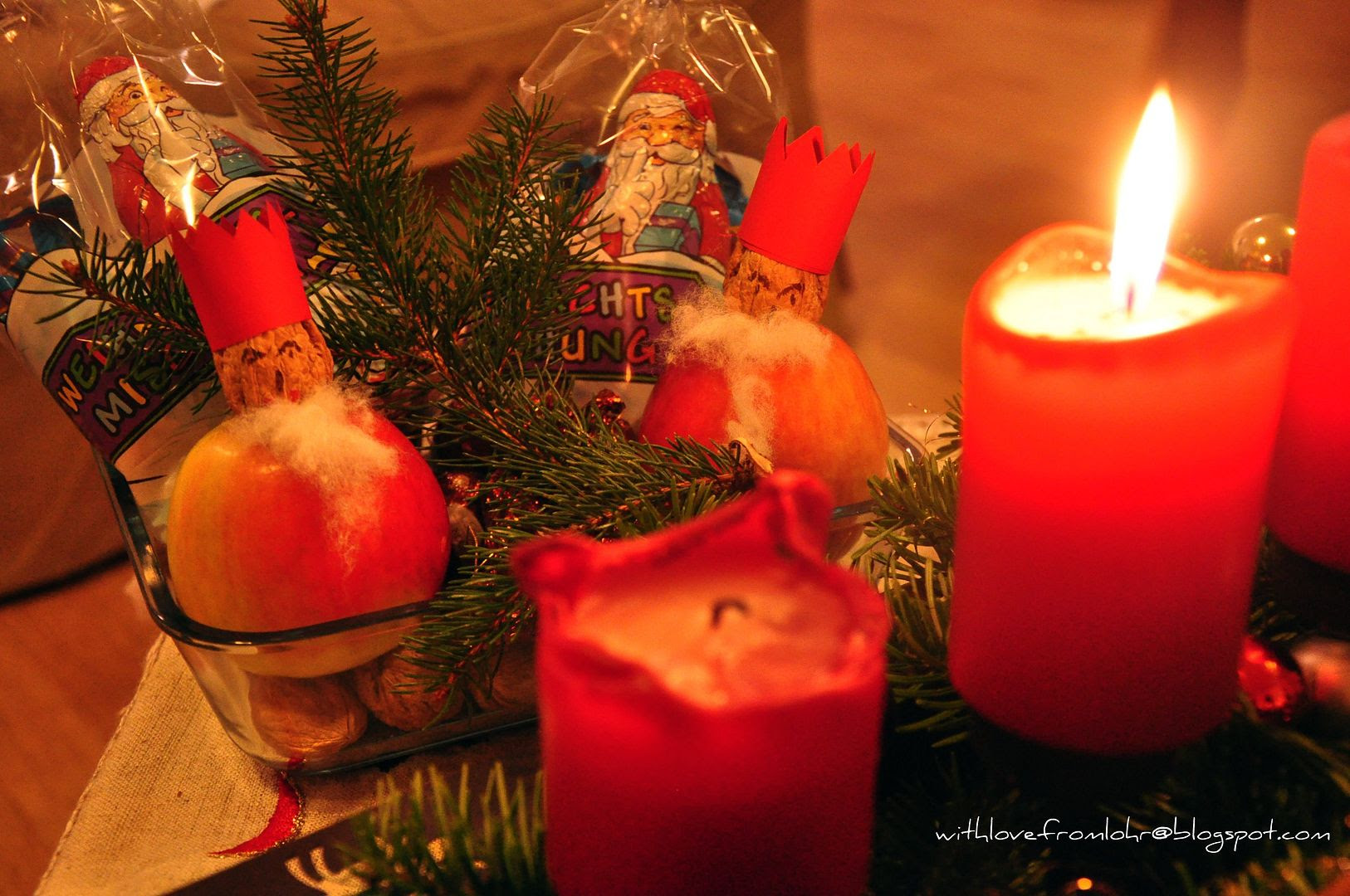 Today, German kids are waiting for Sankt Nikolaus!!!