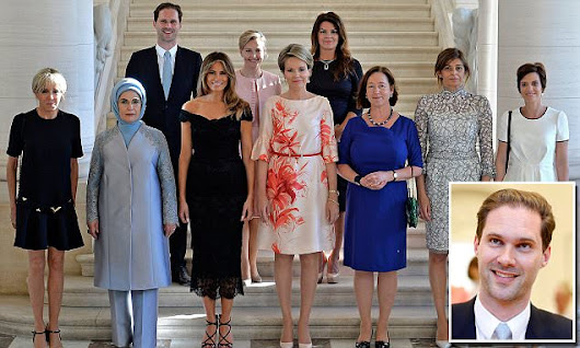 Husband of Luxembourg's gay Prime Minister joins NATO WAGs