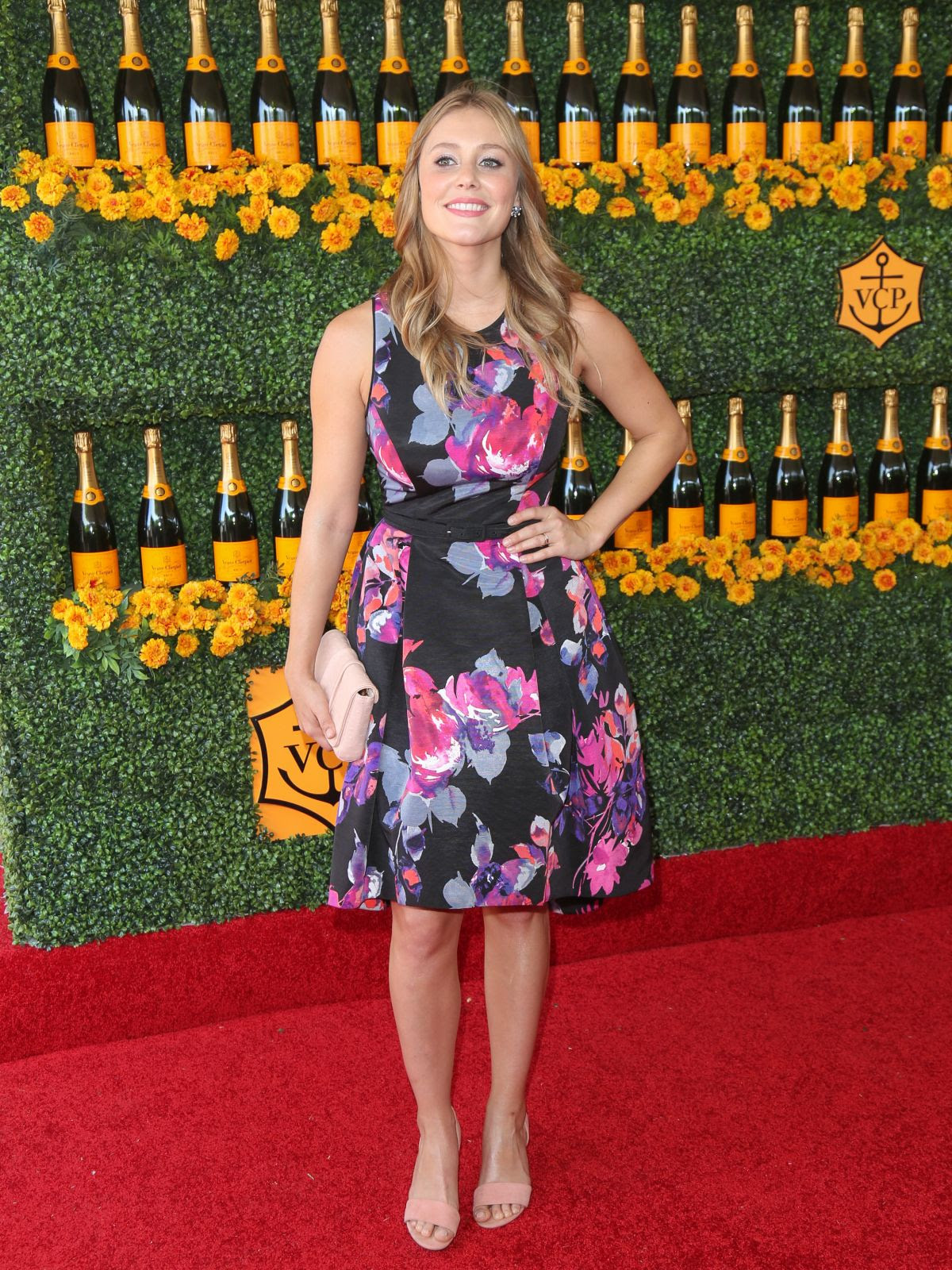 JULIANNA GUILL at 2015 Veuve Clicquot Polo Classic in Pacific Palisades 10/17/2015