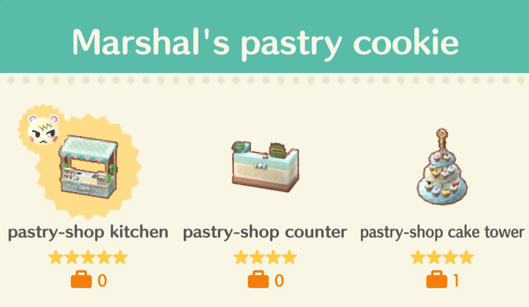 Pastry Shop Kitchen Pocket Camp - Tentang Kitchen on Kitchen Counter Animal Crossing  id=29618