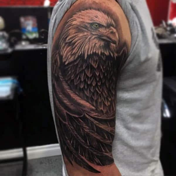 90 Bald Eagle Tattoo Designs For Men - Ideas That Soar High