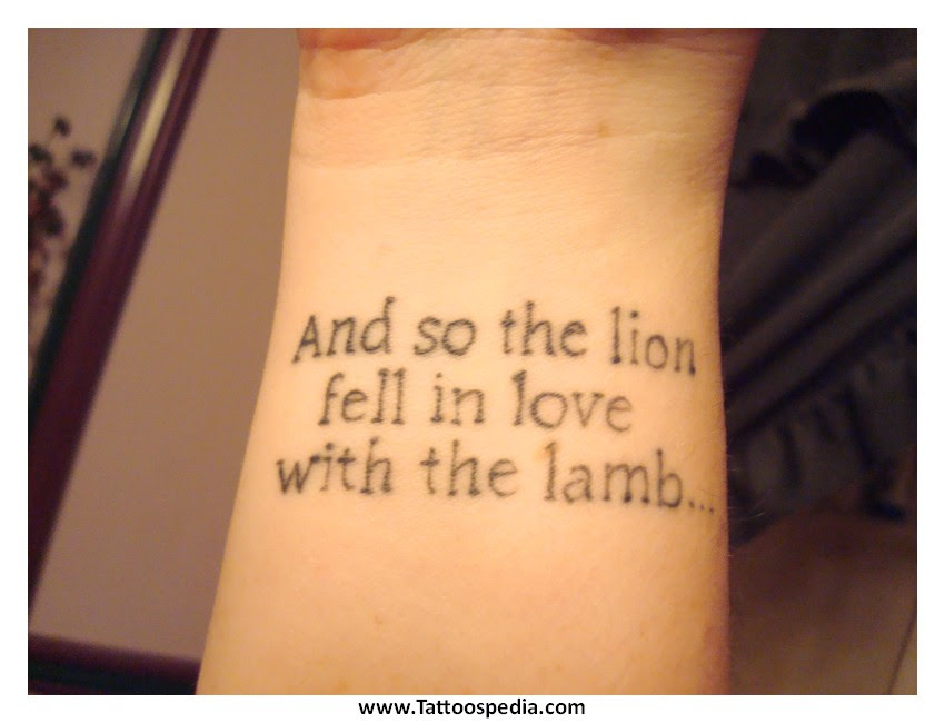 Side Tattoos For Women Quotes 6