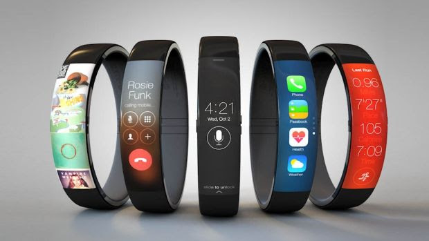 About time: One of the many iWatch concept photos making the rounds online.