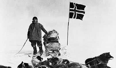 amundsen 1911 south pole La Marina Noruega en busca de los restos de su héroe nacional
