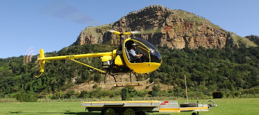 Light helicopter AK1-3. Pilot review. South Africa