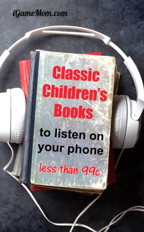 12 Classic Children's Books To Listen on Your Phone