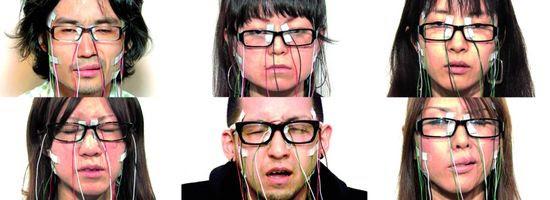 Face visualizer. Face instrument una performance del artista japonés Daito Manabe