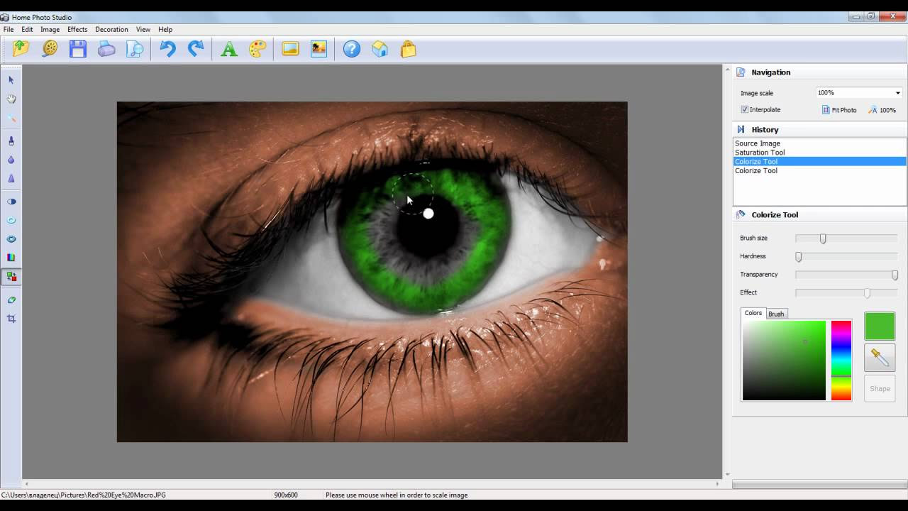 Picture and Photo Editing Software How to change skin and ...