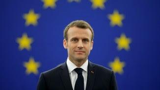 Emmanuel Macron al Parlament Europeu