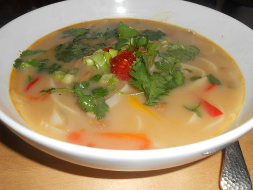 Green Curry Coconut Soup