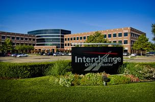 Interchange Office Center won a TOBY award in the 100,000 to 249,999 square feet category.