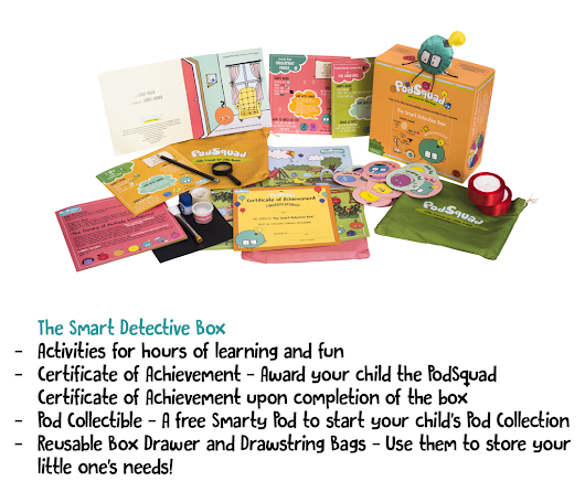 The Smart Detective Box by PodSquad - Review - Being Mumma!