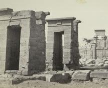 El templo, en Debod