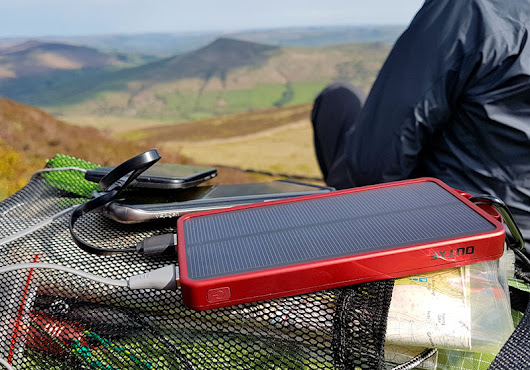 OutXE Power Bank Review - Featuring a Solar Panel and 32 LED lights