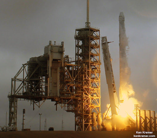 Spectacular SpaceX Space Station Launch and 1st Stage Landing - Photo/Video Gallery - Universe Today