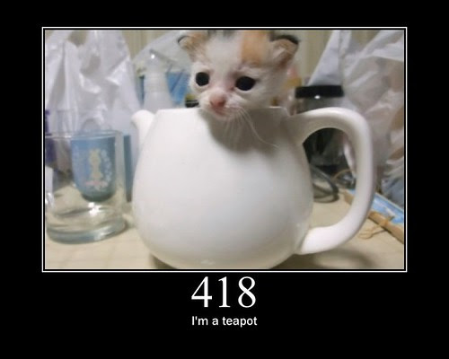 418 - I'm a teapot by GirlieMac