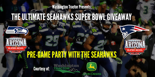 Get sent to 12th Heaven!!  Ultimate Seahawk Super Bowl Giveaway...