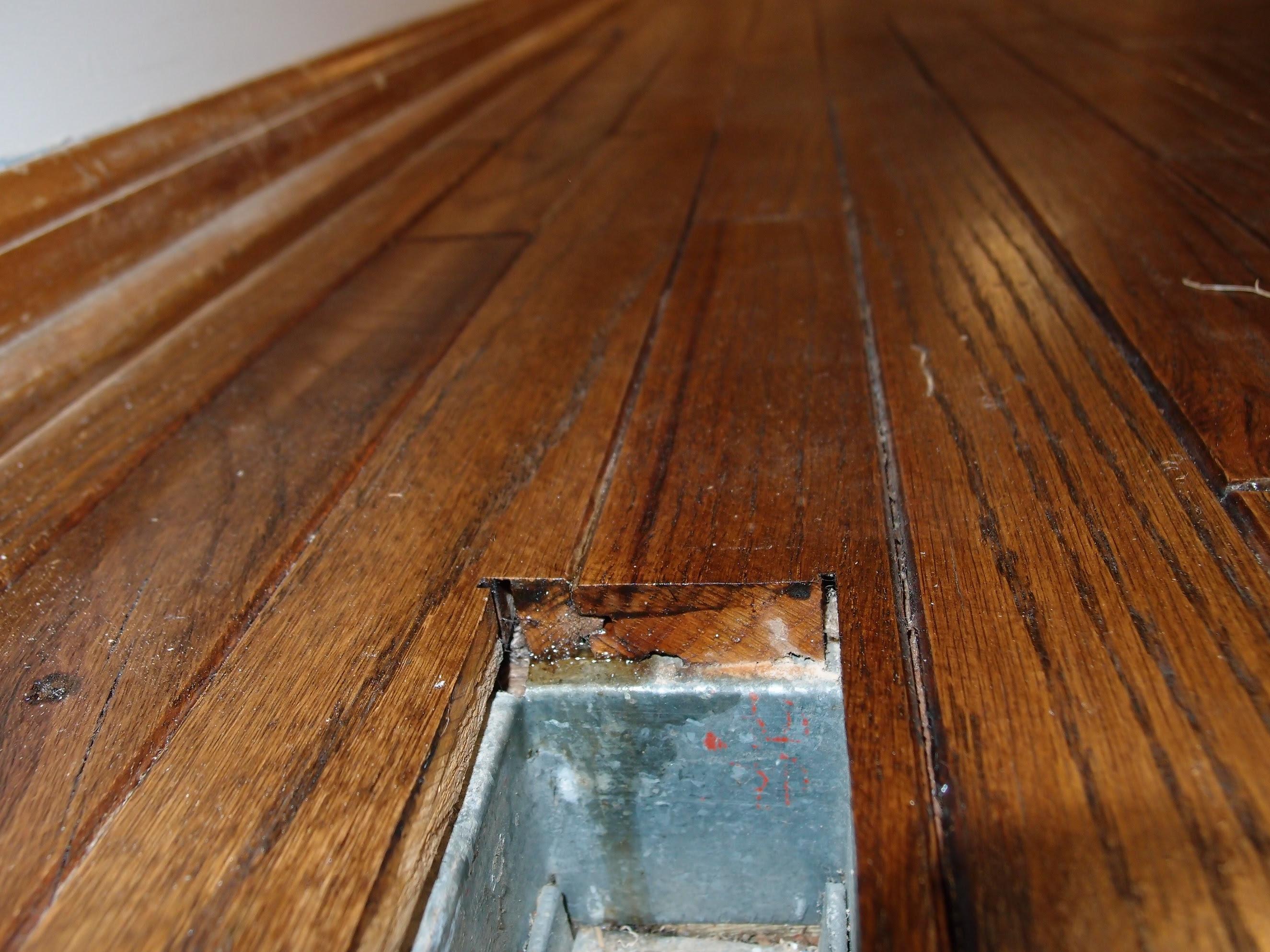 Bruce Pegged Hardwood Flooring