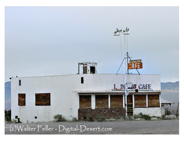 photo of Ludlow Cafe  along route 66 in Ludlow, Ca