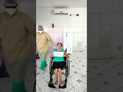 Em Mata Roma, Primeira paciente da Ala Exclusiva Covid-19 recebe alta após ter sido curada.
