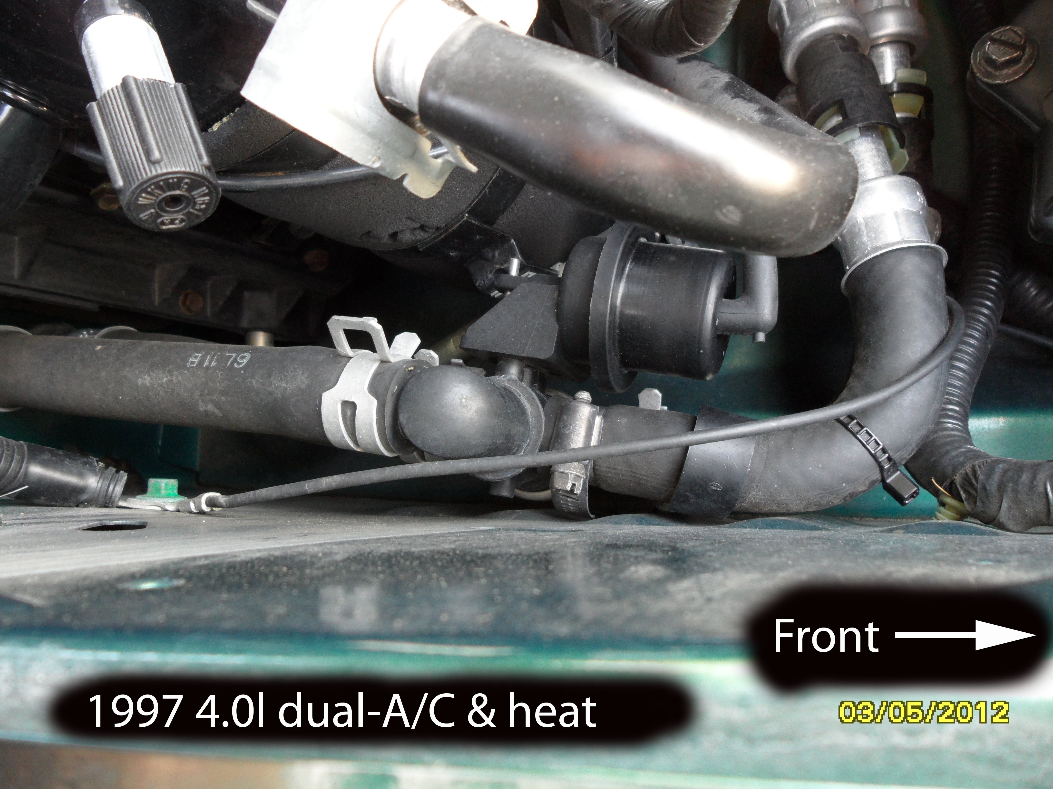 30 2001 Ford Expedition Heater Core Hose Diagram