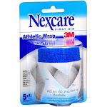 Nexcare First Aid Athletic Wrap, Blue