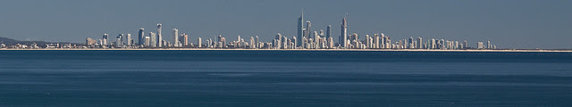 Gold Coast from a distance